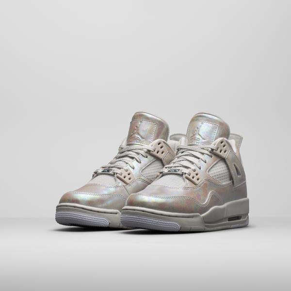 Girl's Air Jordan IV Pearl