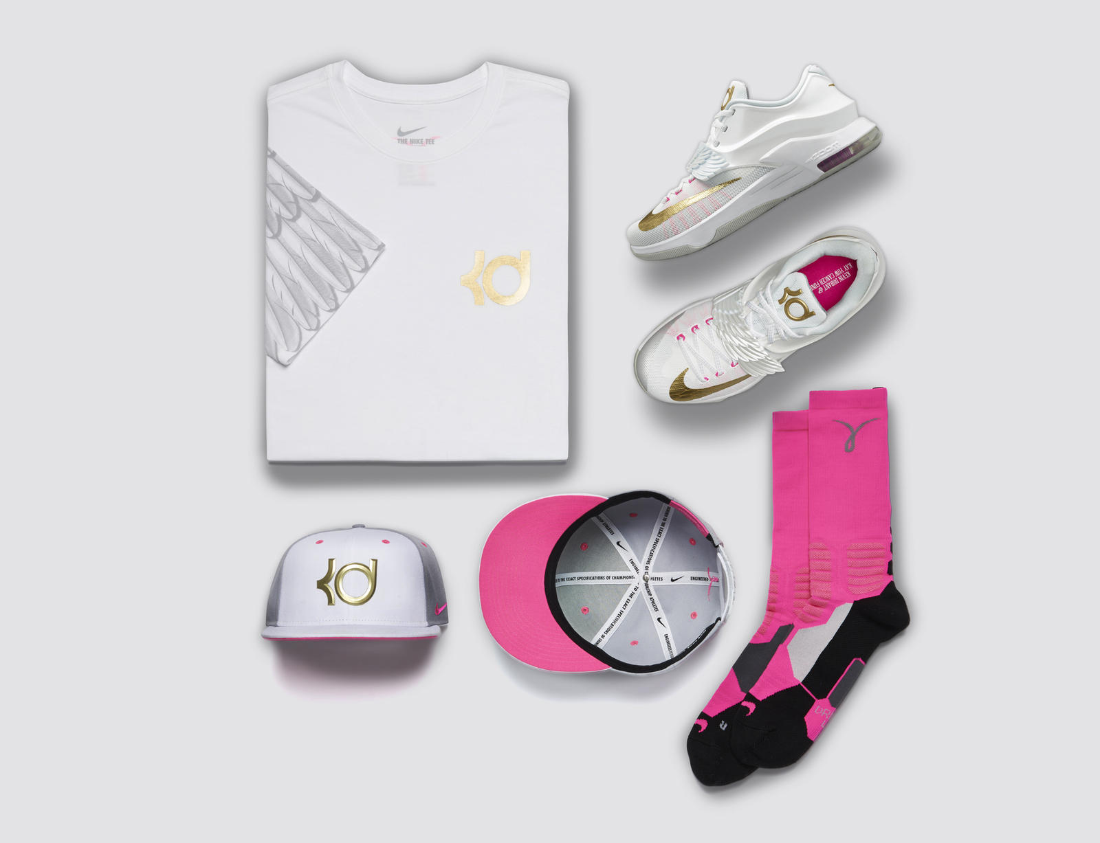 New KD7 Aunt Pearl Shoe Honors Kevin Durant's Angelic Aunt ...