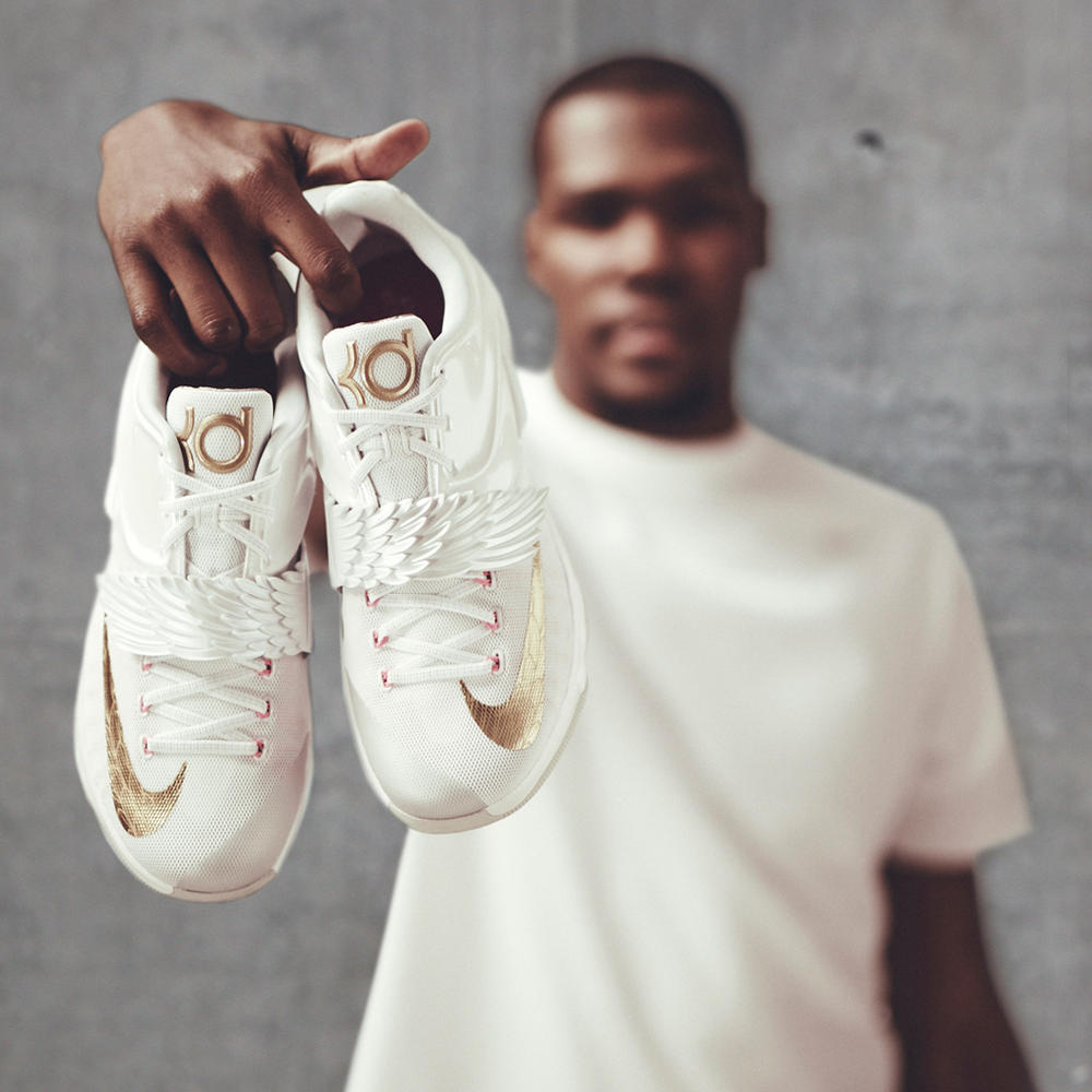 New KD7 Aunt Pearl Shoe Honors Kevin Durant's Angelic Aunt
