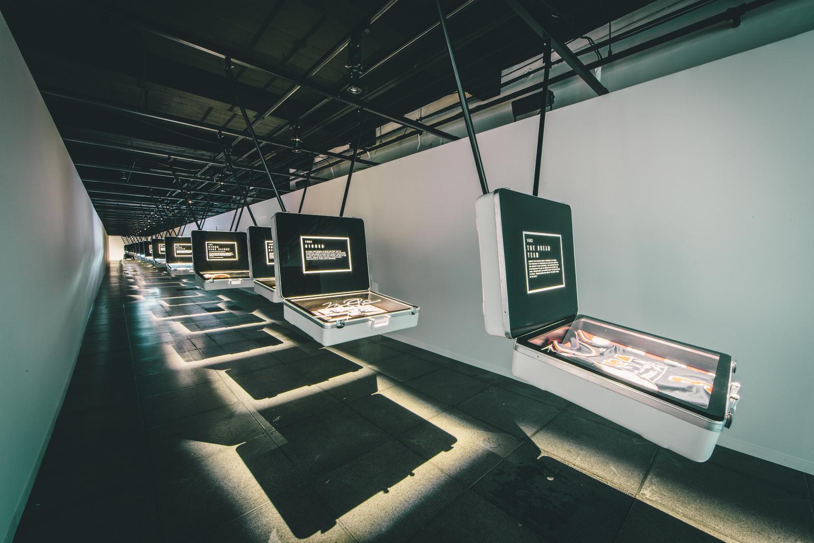 Jordan Brand's Pearl Pavilion: Hallway of Greatness