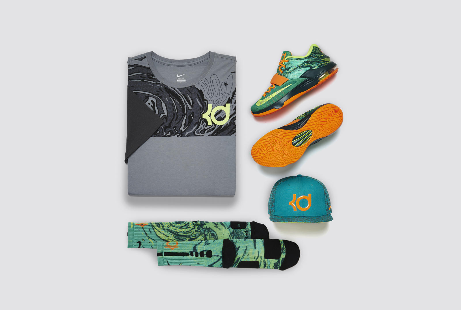 Kd7 weatherman shoe brings heat to the forecast nike news for Kevin durant weatherman shirt