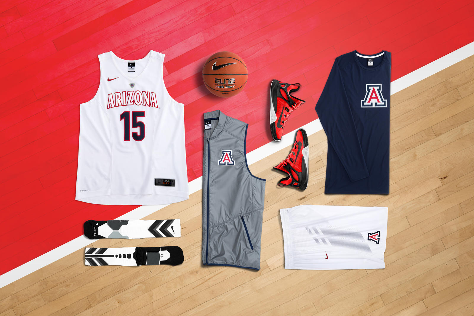 Nike Hyper Elite Arizona laydown
