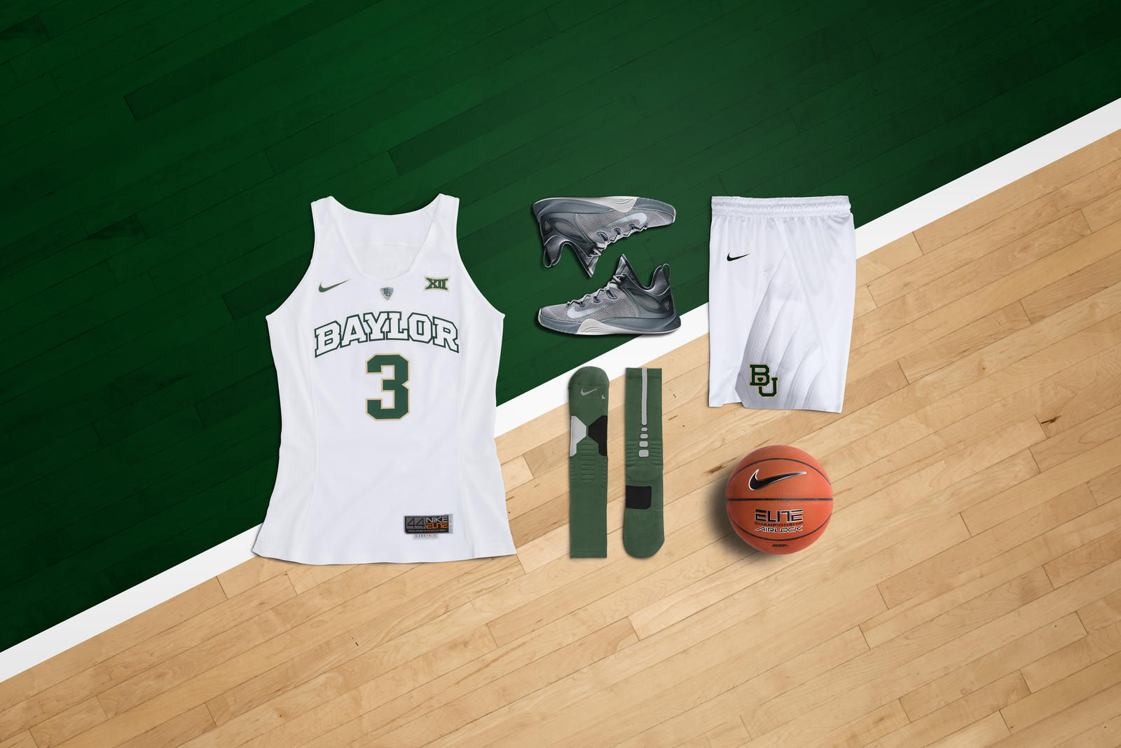 Nike Hyper Elite Women's Baylor lay down