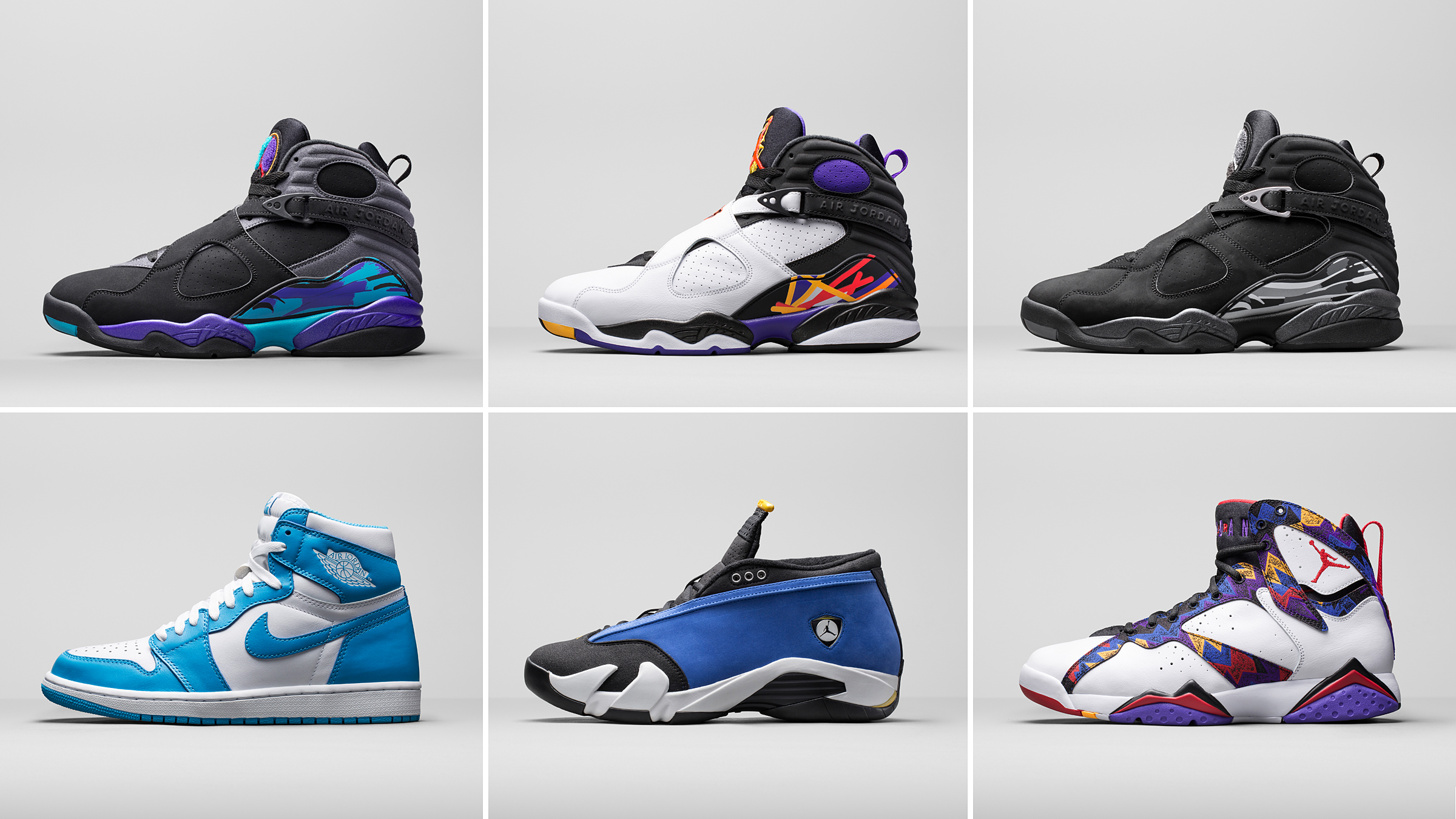 Jordan Brand Previews The Holiday 2015 Retro Lineup