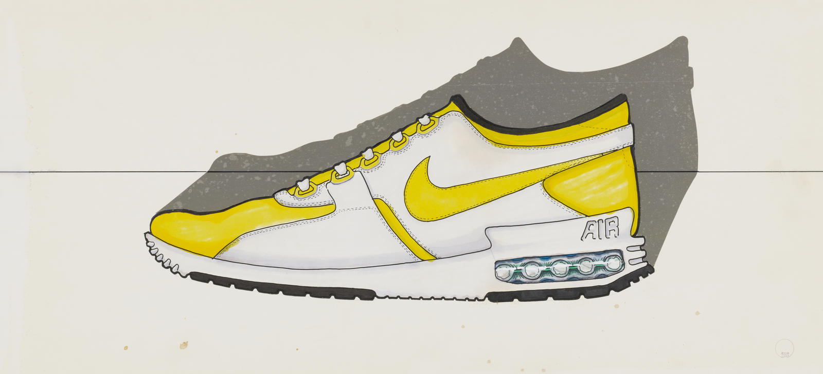 cd42e0b744cc4 INS2103 1. Tinker Hatfield s original sketch of the Air Max Zero