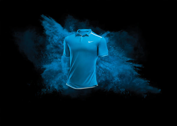 Nike Tennis ColorDry Polo Makes On-Court Debut at Indian Wells