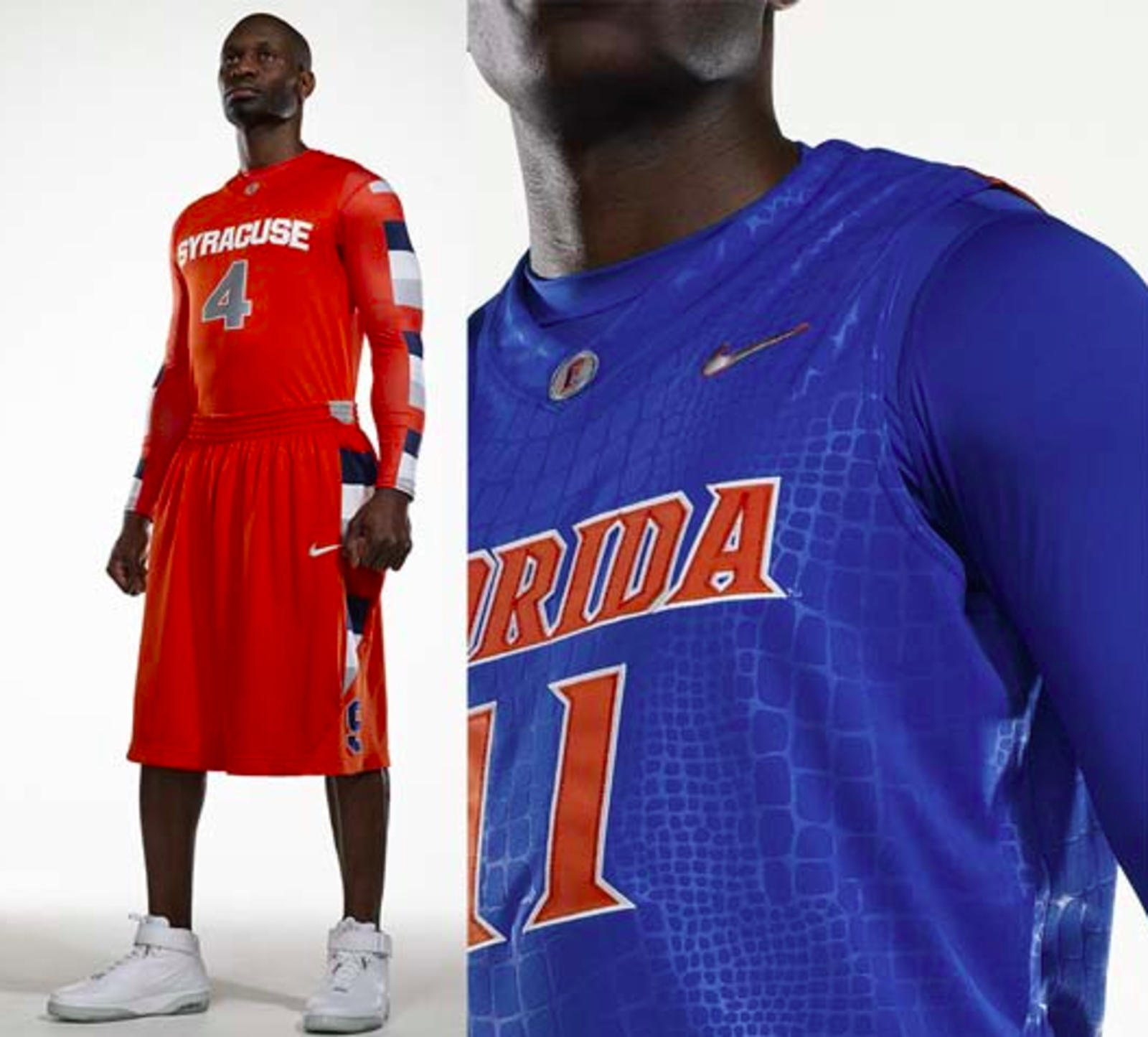 "Nike ""System of Dress"" Cuse and Florida"
