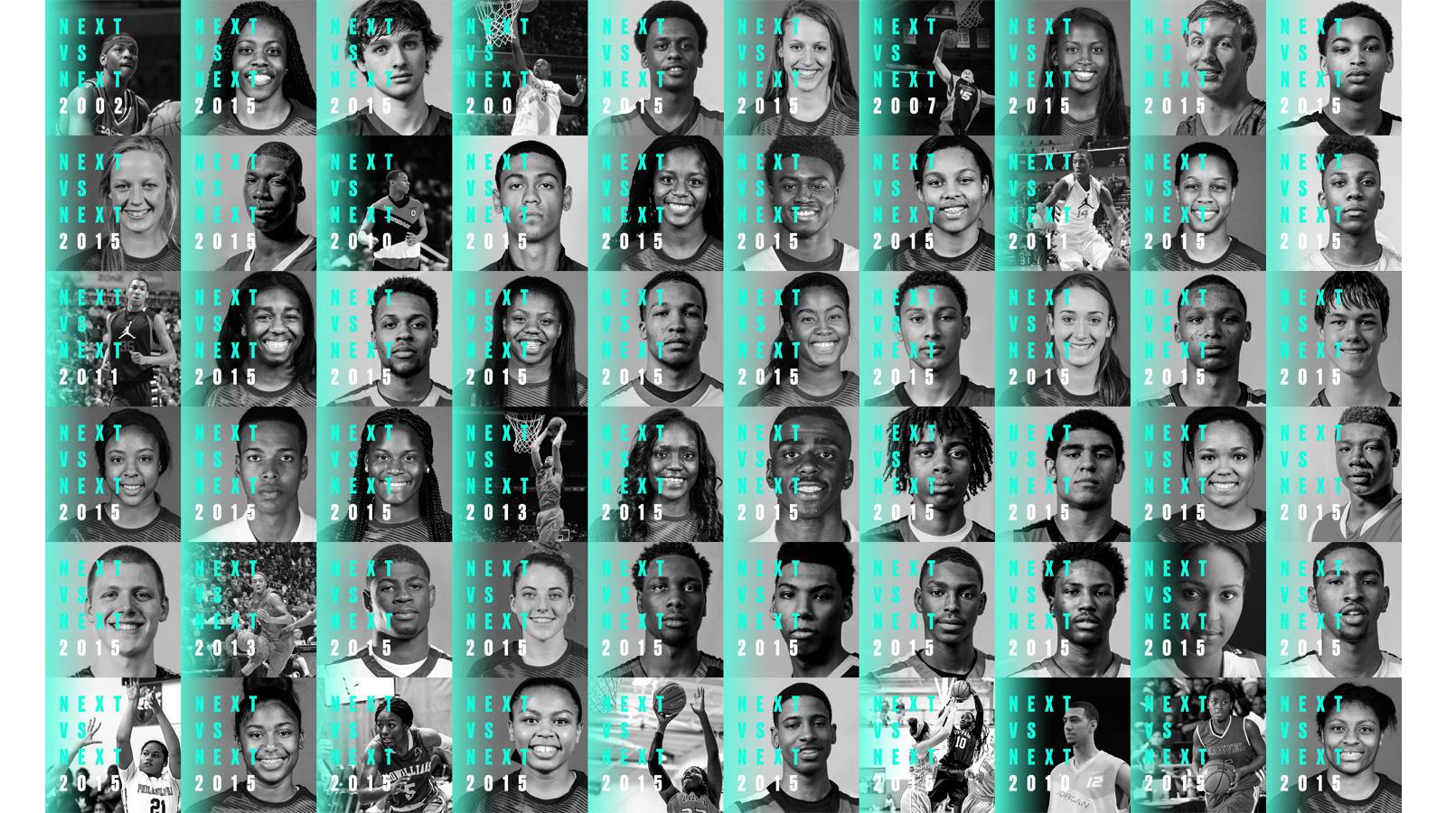 Jordan Brand Classic Alumni and 2015 Participants