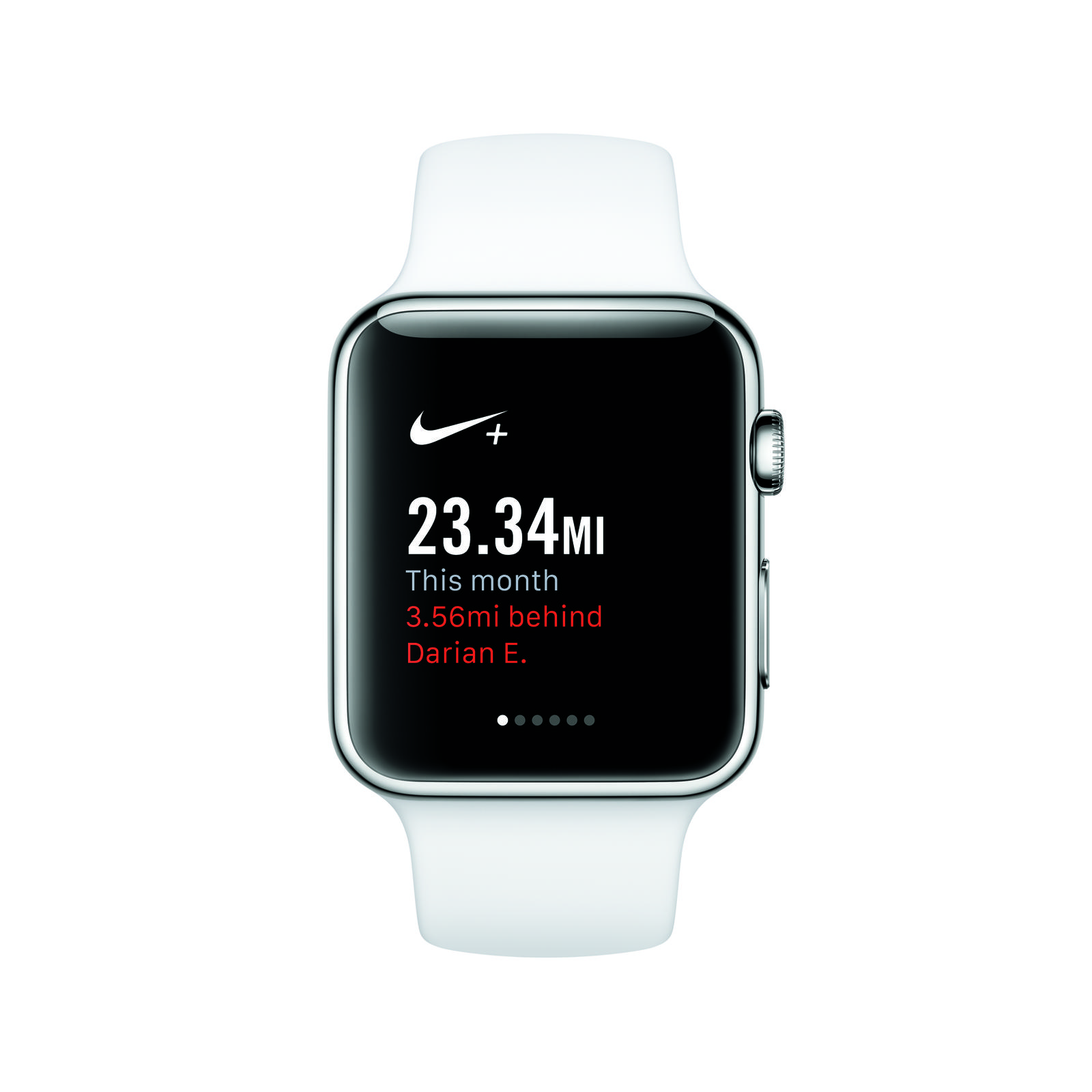 Nike+ Running on Apple Watch