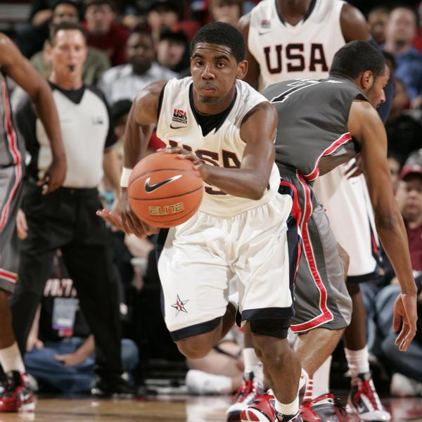 Kyrie Irving in the 2010 Nike Hoop Summit
