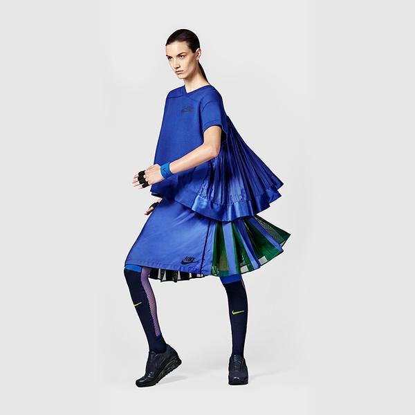 NikeLab x sacai Tech Fleece Crew and Sport Skirt