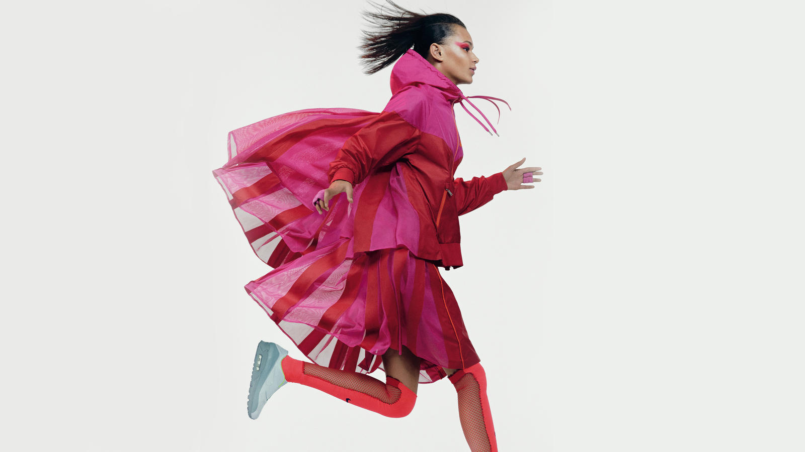 Binx wearing NikeLab x sacai