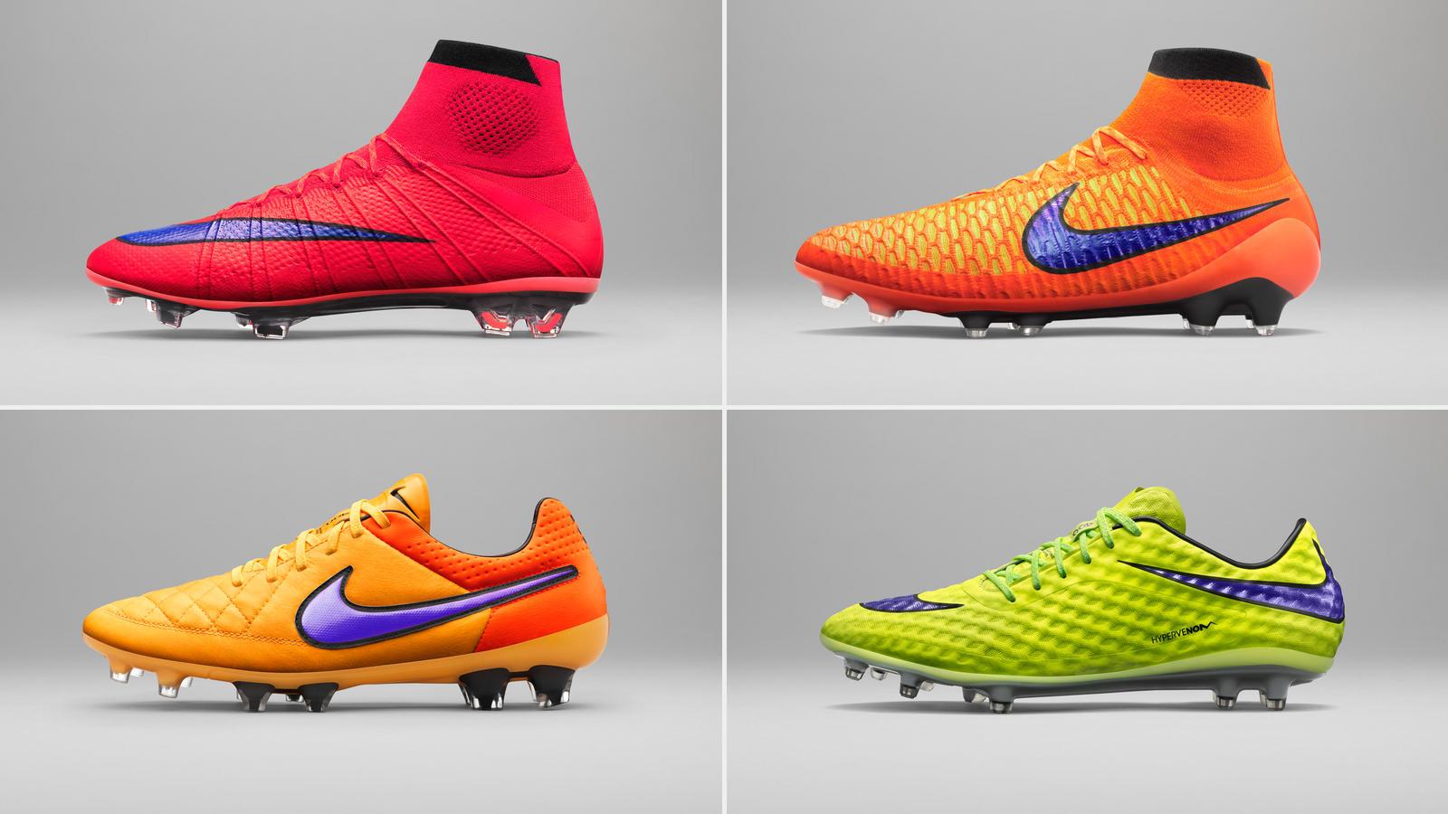 eb04df37451c4 Nike apresenta tons quentes em nova coleção de chuteiras - Nike News