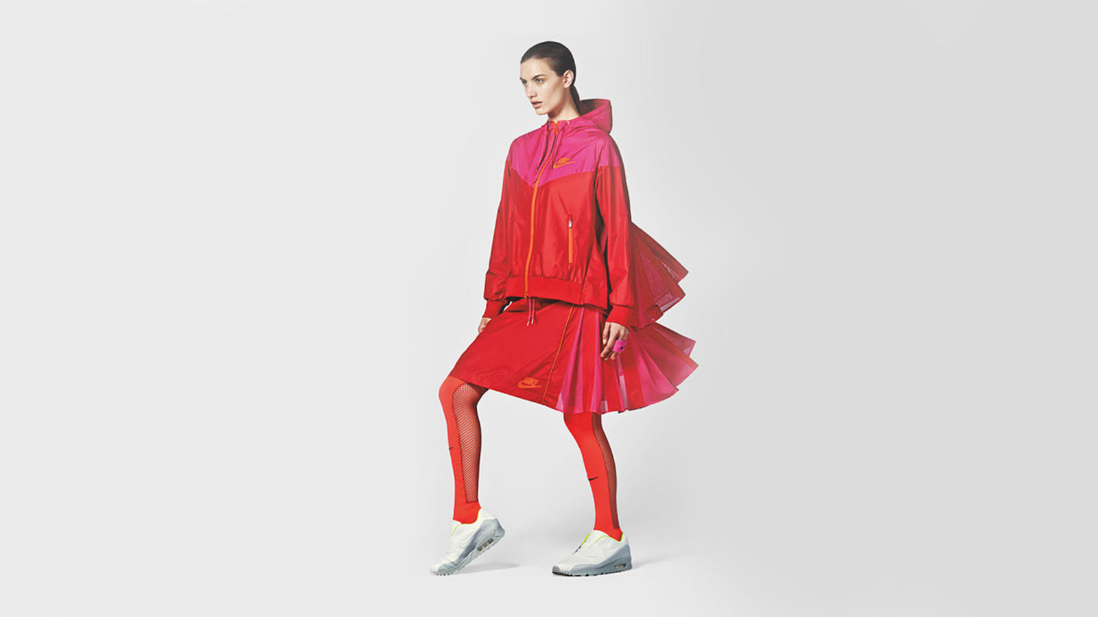 NikeLab x Sacai Windrunner and Sport Skirt