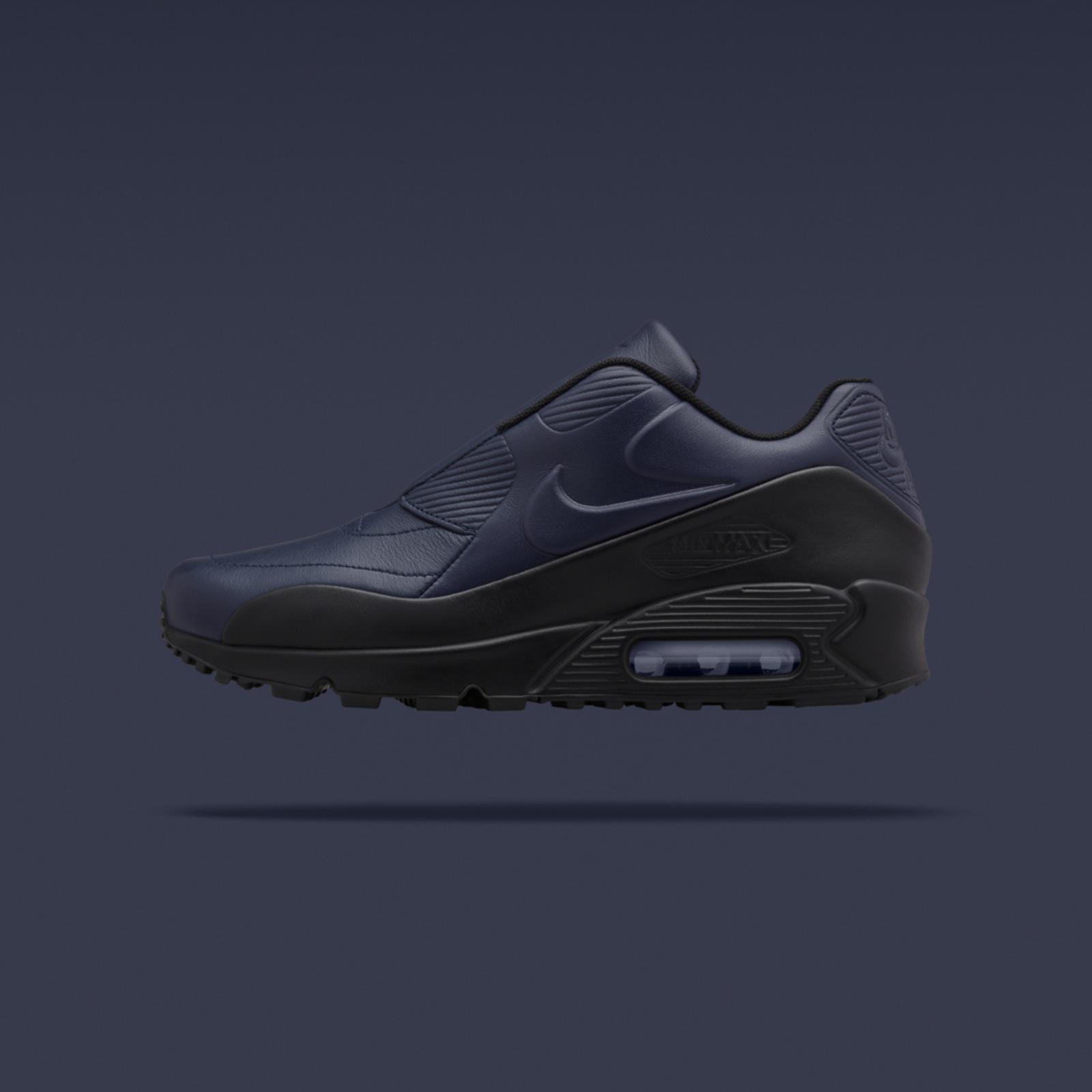NikeLab x sacai Air Max 90 obsidian/black
