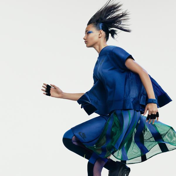 Nikelab X Sacai Brings A Feminine Edge To Sport Classics