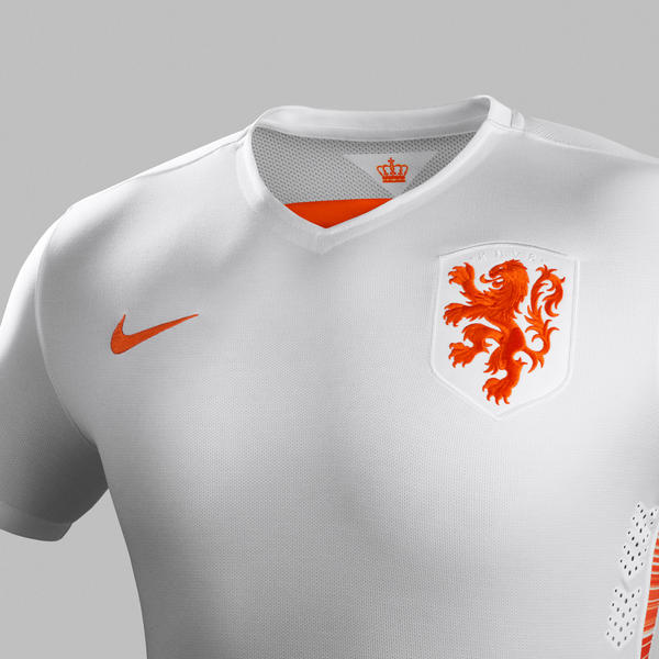 Netherlands Away Jersey - Chest