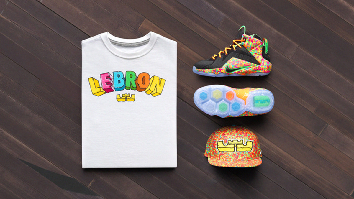 lebron james clothing baby kd shoes