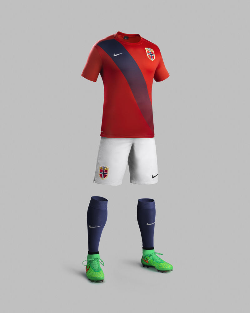 First Norway National Team Kits by Nike Honor Team's Heritage