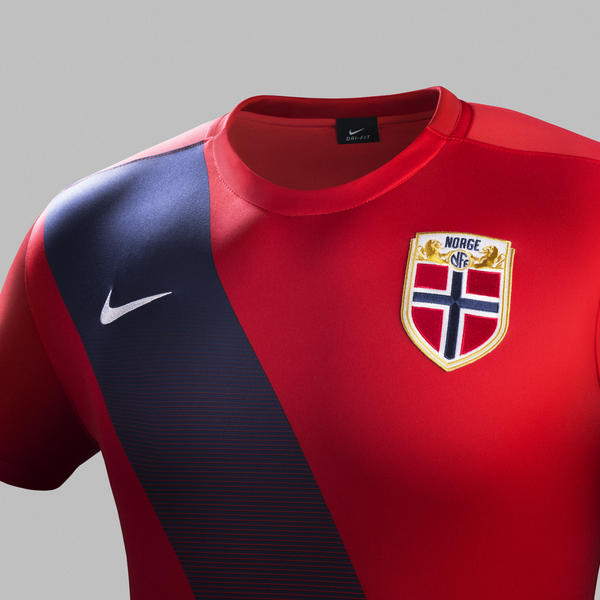 Norway Home Jersey - Chest