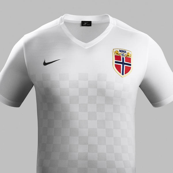 Norway Away Jersey - Chest