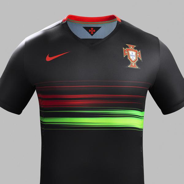 Portugal Away Jersey - Torso