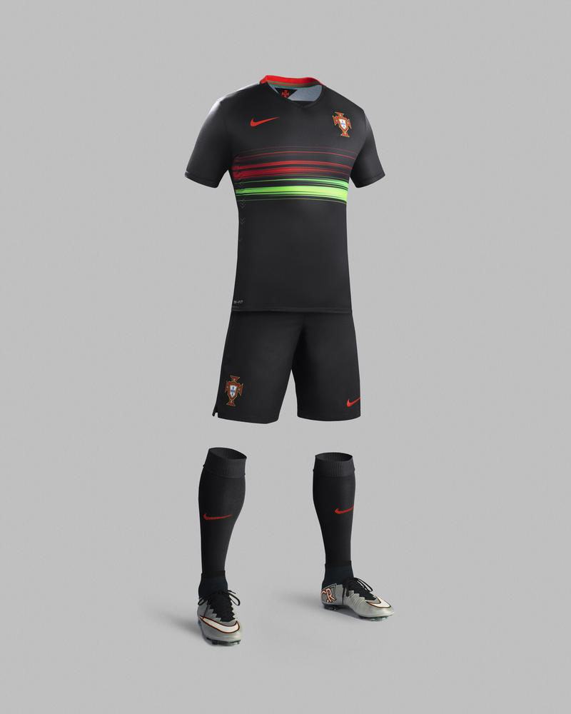 Portugal National Football Team's Skill and Flair Inspire 2015-16 Away Kit by Nike
