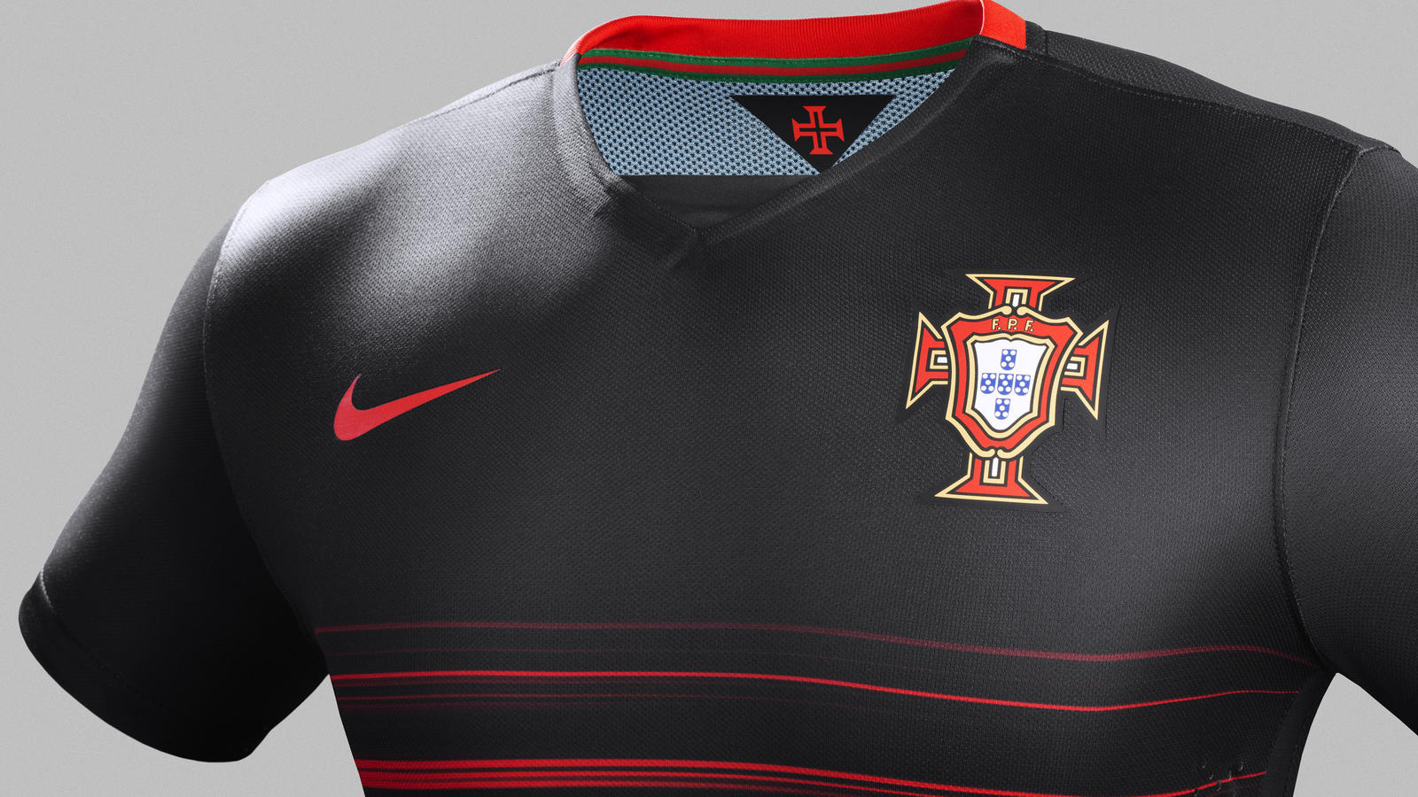 Portugal Away Jersey - Chest