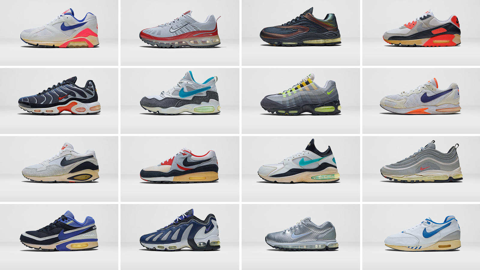 nike air max complete list