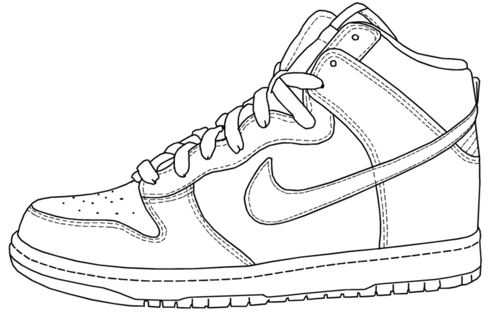 an artistic mash-up of different shoes. Purity of the original Nike ...