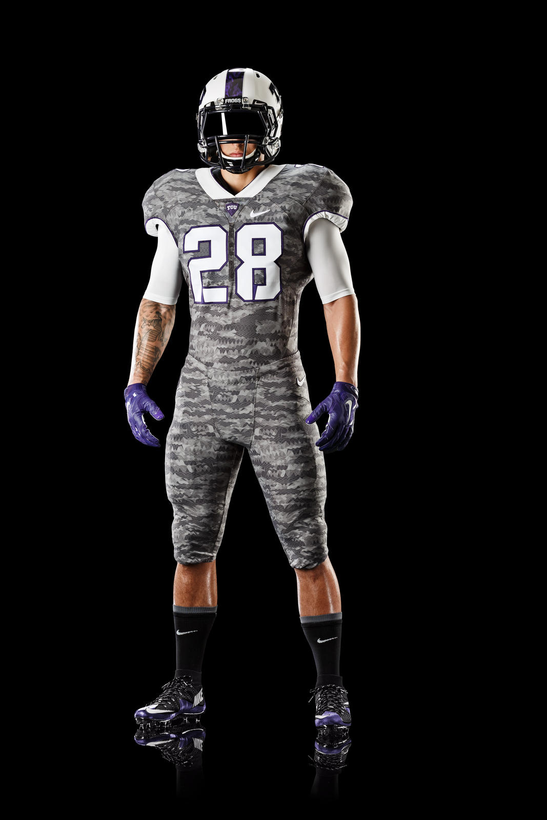 Tcu S Tradition Of Resilience Inspires Nike Football Mach