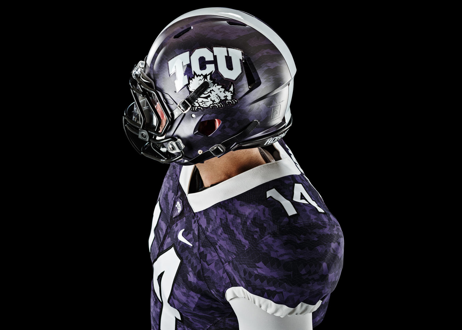 TCU's Tradition of Resilience Inspires Nike Football Mach ...