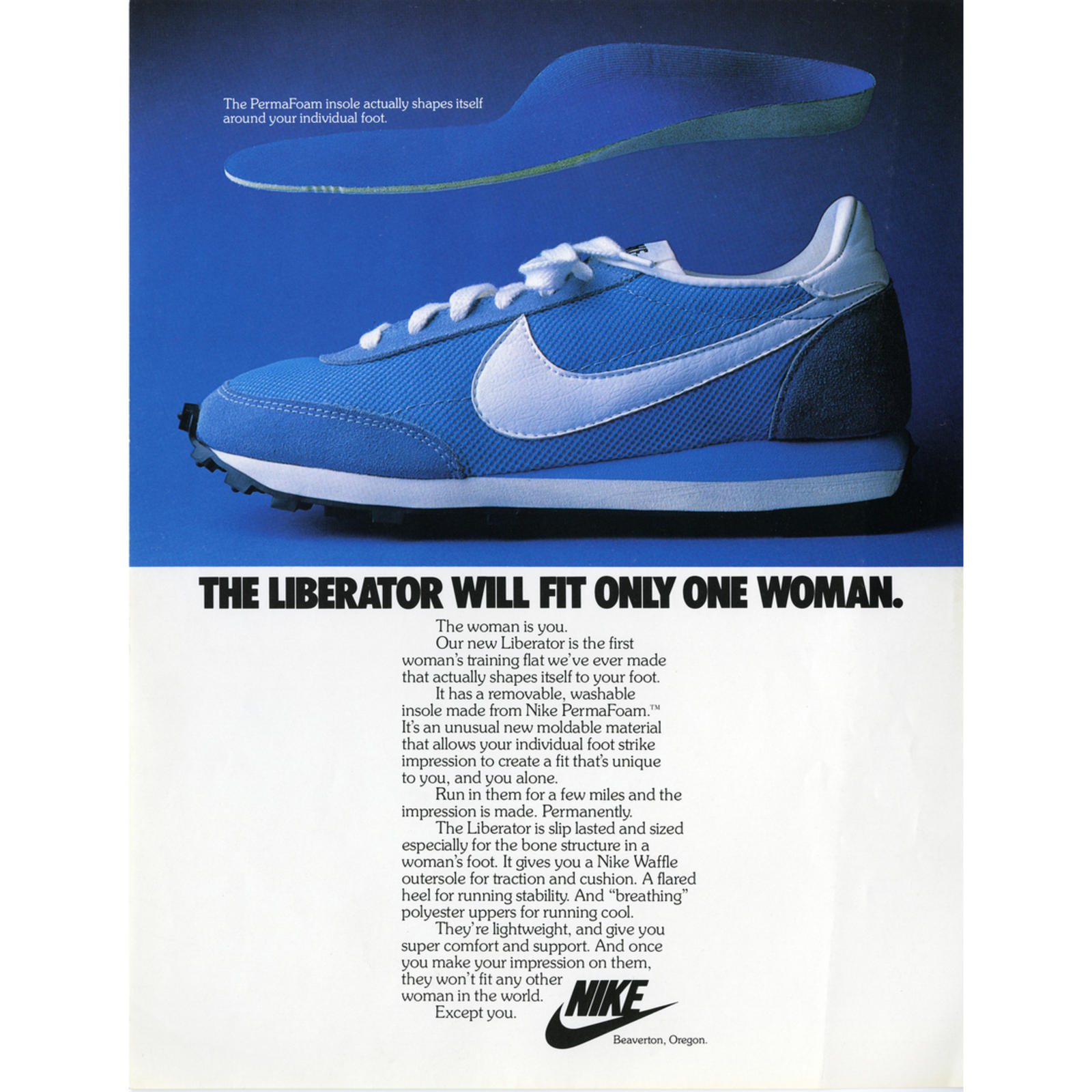 Nike Puts Women Front and Center for 40 Years and Counting - Nike News 2d8bd9959f