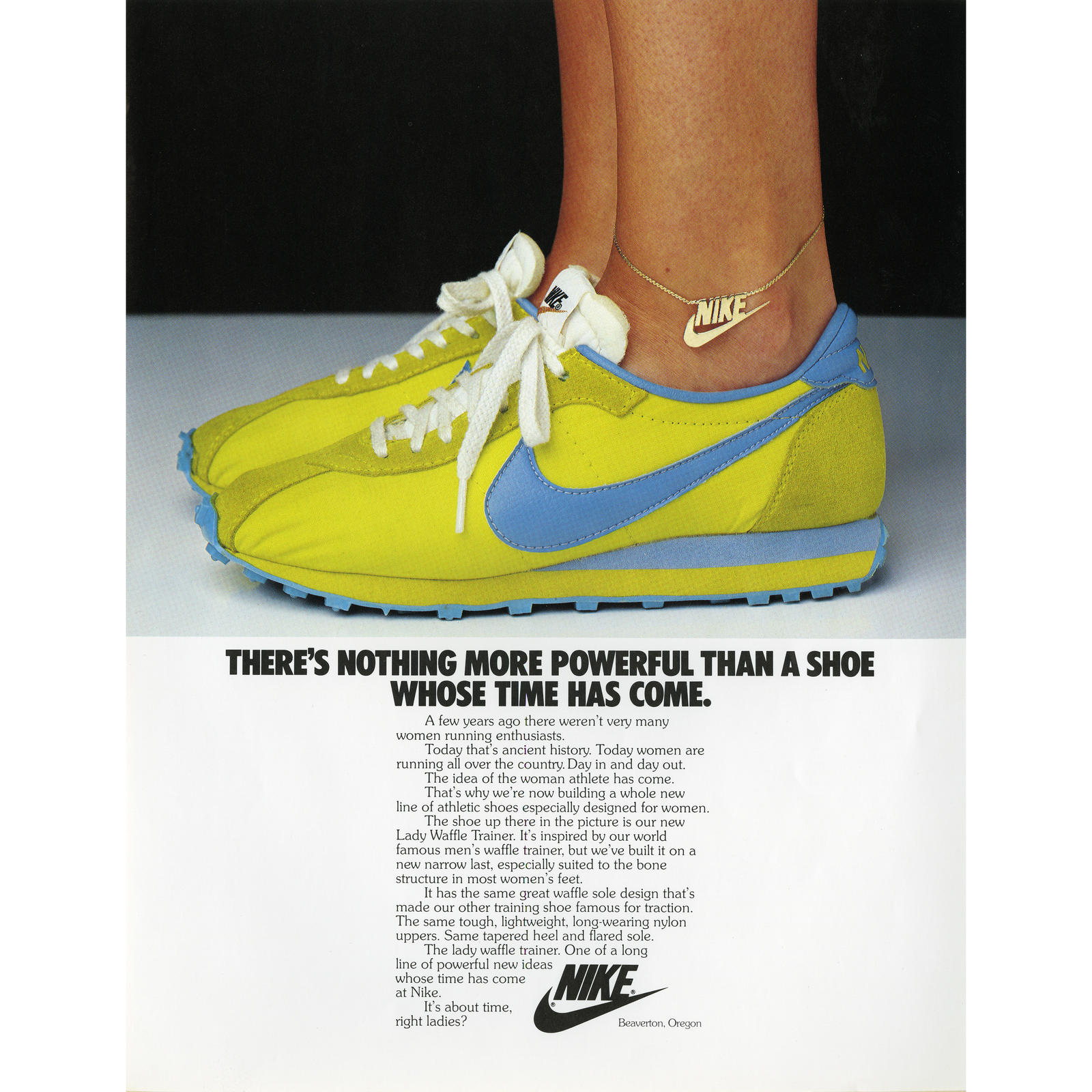 Nike Tennis Shoes Ads