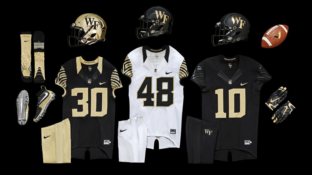 Wake Forest History Inspires New Nike Football Uniform Design 97b431771