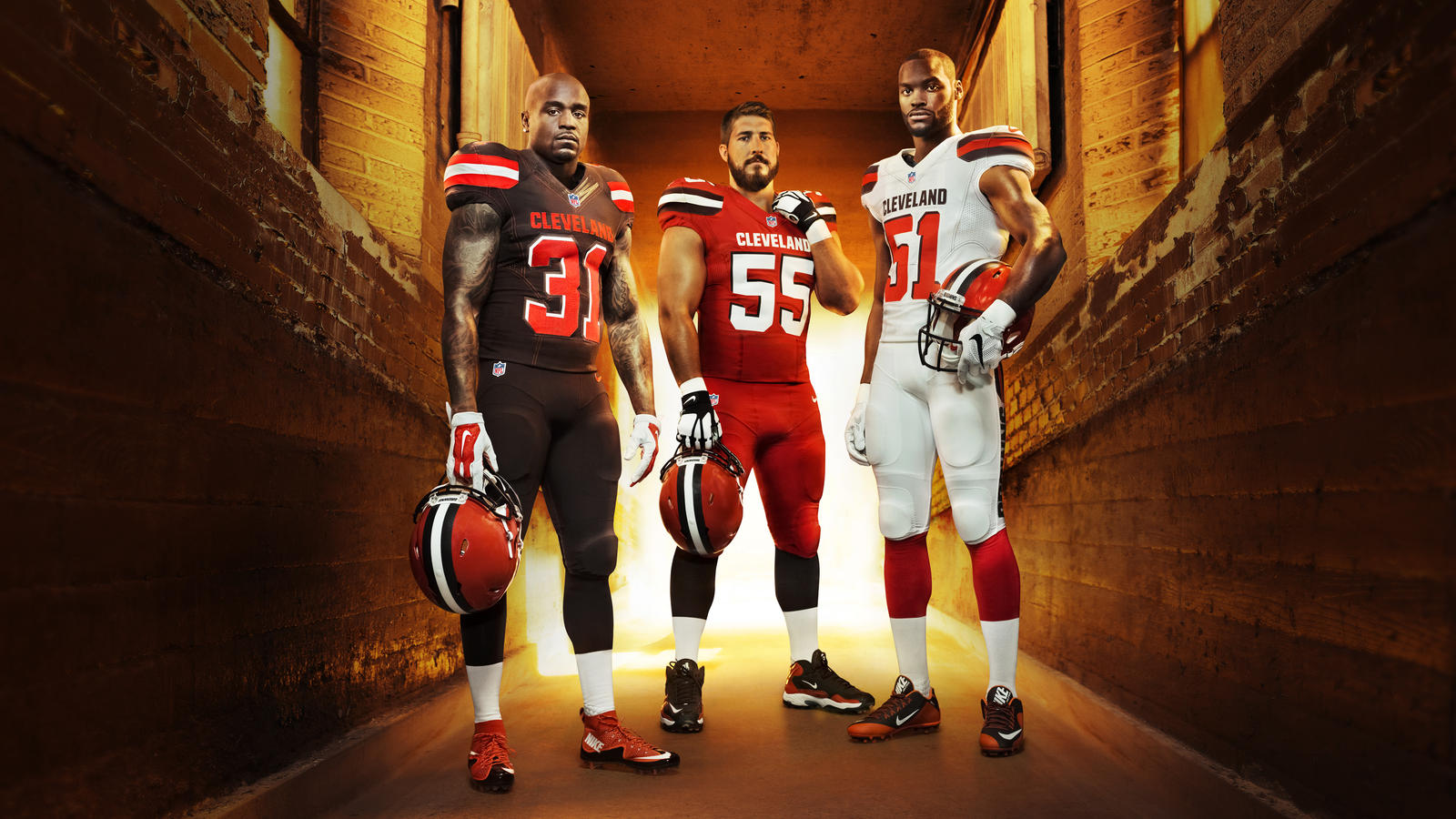 reputable site 125a8 0a4da Cleveland Browns Celebrate Their Fans and Team History With ...