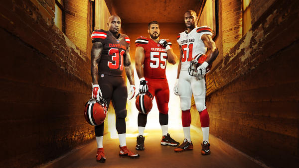 Cleveland Browns Celebrate Their Fans and Team History With New NFL Nike Elite 51 Uniform Design