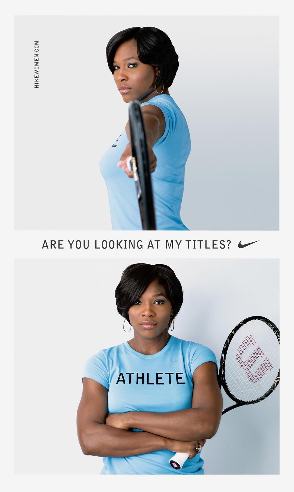 Athlete 2007 featuring Serena Williams
