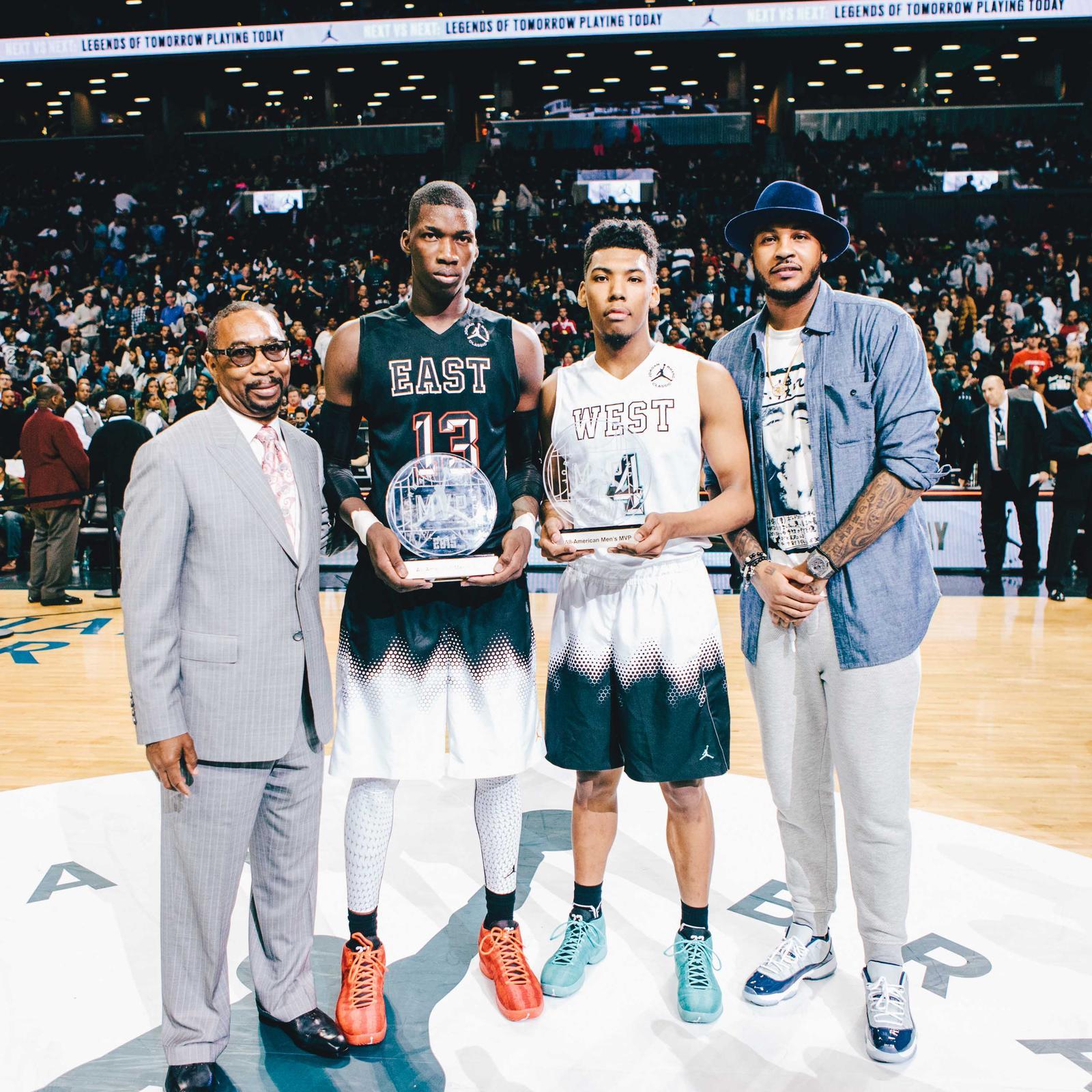half off fa58b e5c70 Jordan Brand Classic All-American MVPs