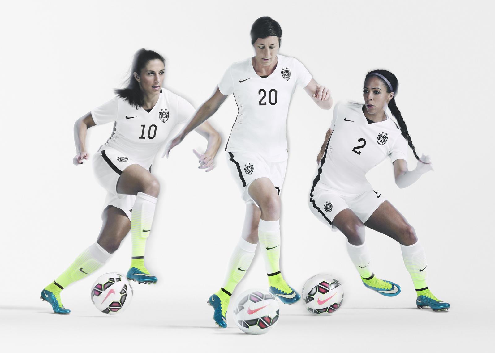 Striking U.S. Women's National Team