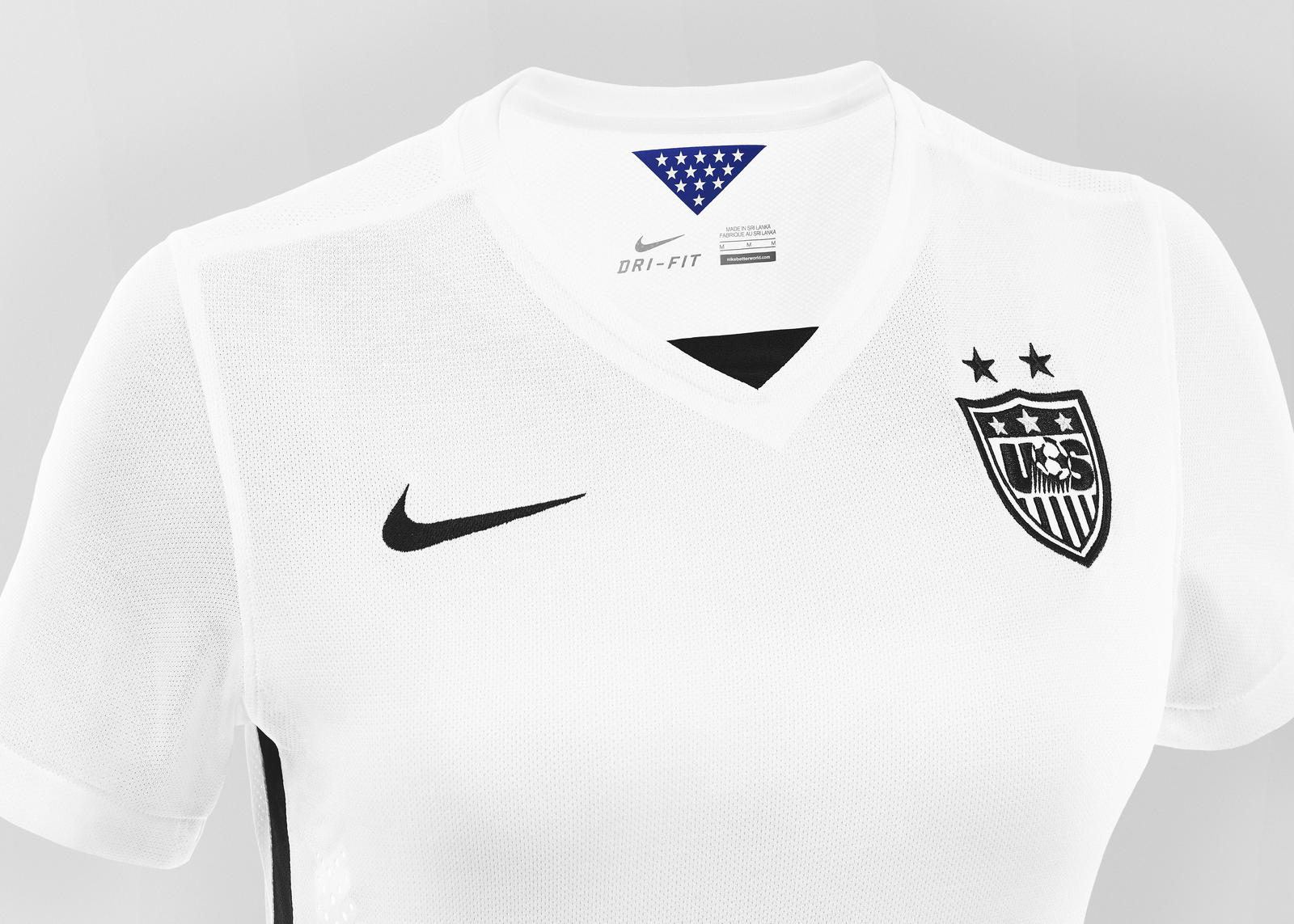 50396961e52 Striking U.S. Women's National Team Home Kit and Footwear Collection ...