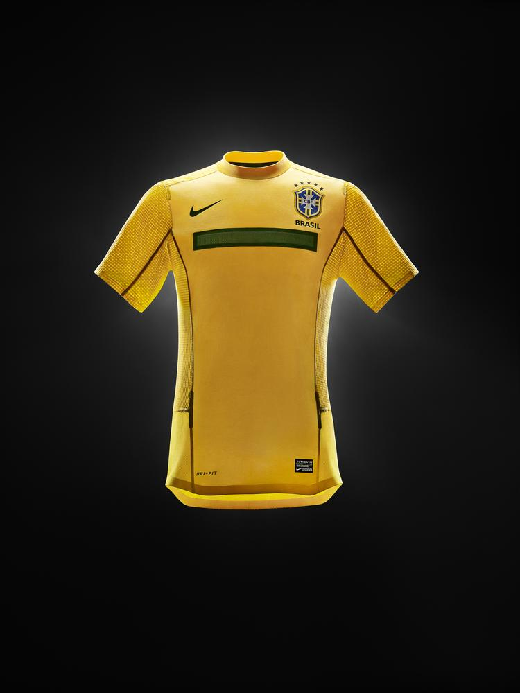 Nike Unveils New Brasil National Team Jersey