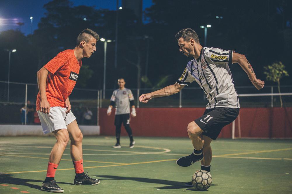 Futsal do Corinthians vence jogo de Futebol de Rua