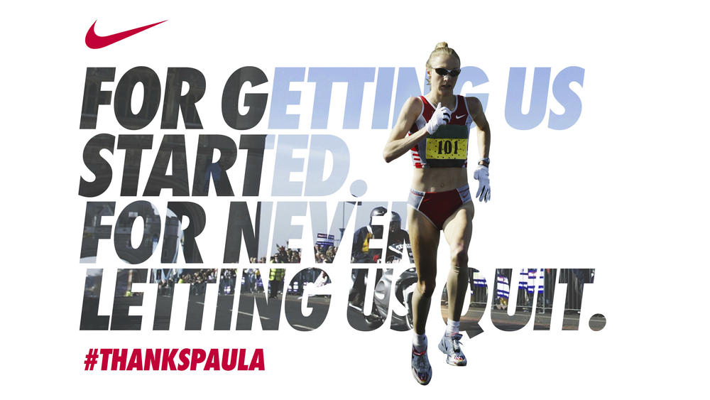 Nike Honors Paula Radcliffe, Legendary Women's Marathoner