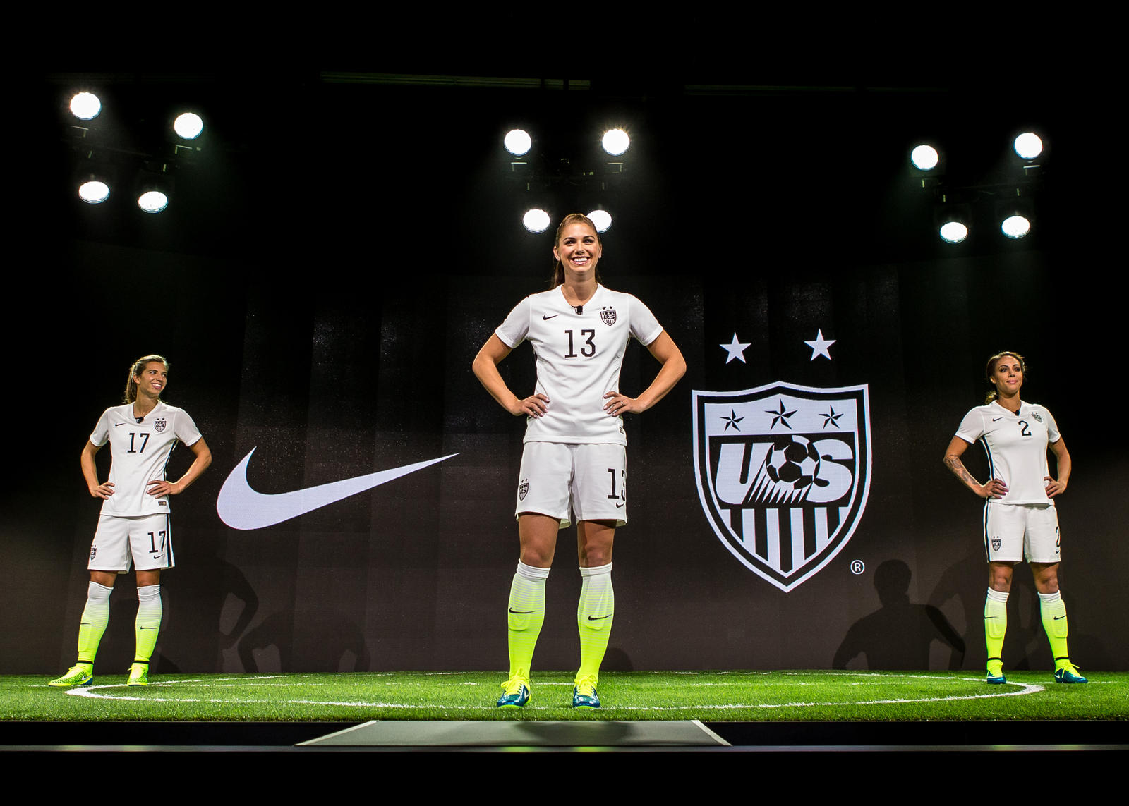 3476b7d65ab Striking U.S. Women s National Team Home Kit and Footwear Collection ...