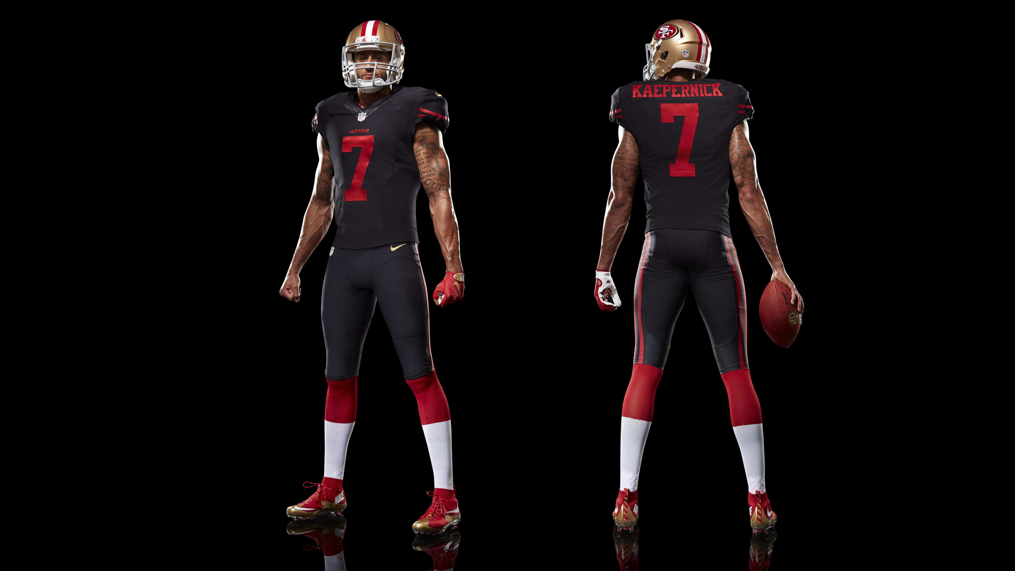 75ee9fc3b Nike News - All Black Everything  The San Francisco 49ers New ... NFL San  Francisco 49ers (Colin Kaepernick) Men s ...