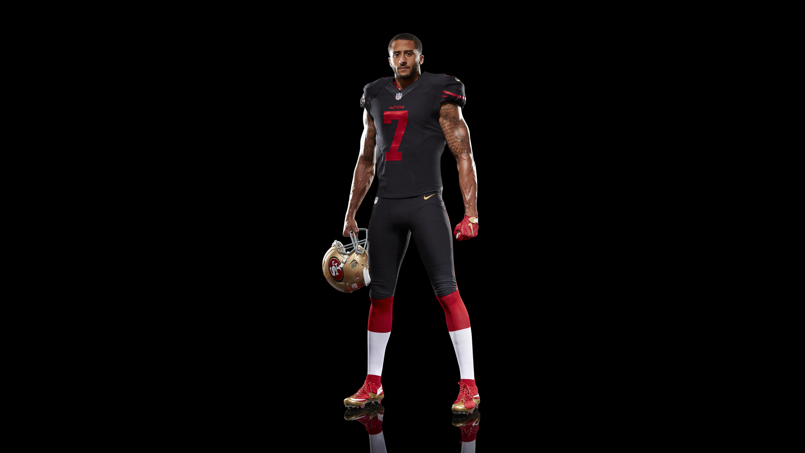 competitive price 6f1a3 842ed discount code for nike 49ers 7 colin kaepernick black ...