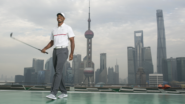 Tiger Woods and Nike Inspire Young Athletes in China
