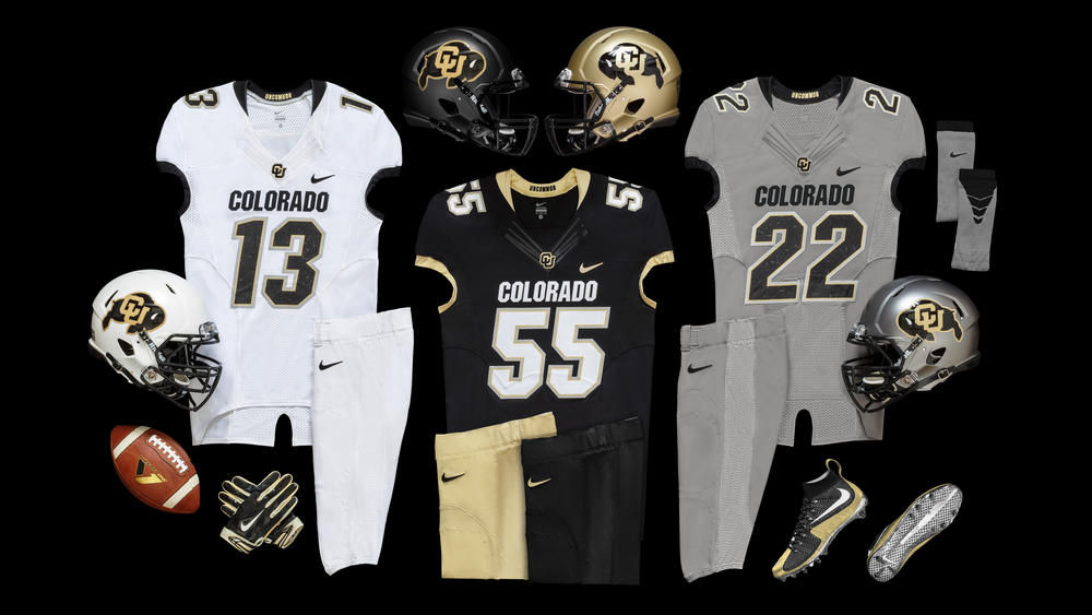 Colorado Buffaloes Honor Mascot with New Nike Football Uniform Design