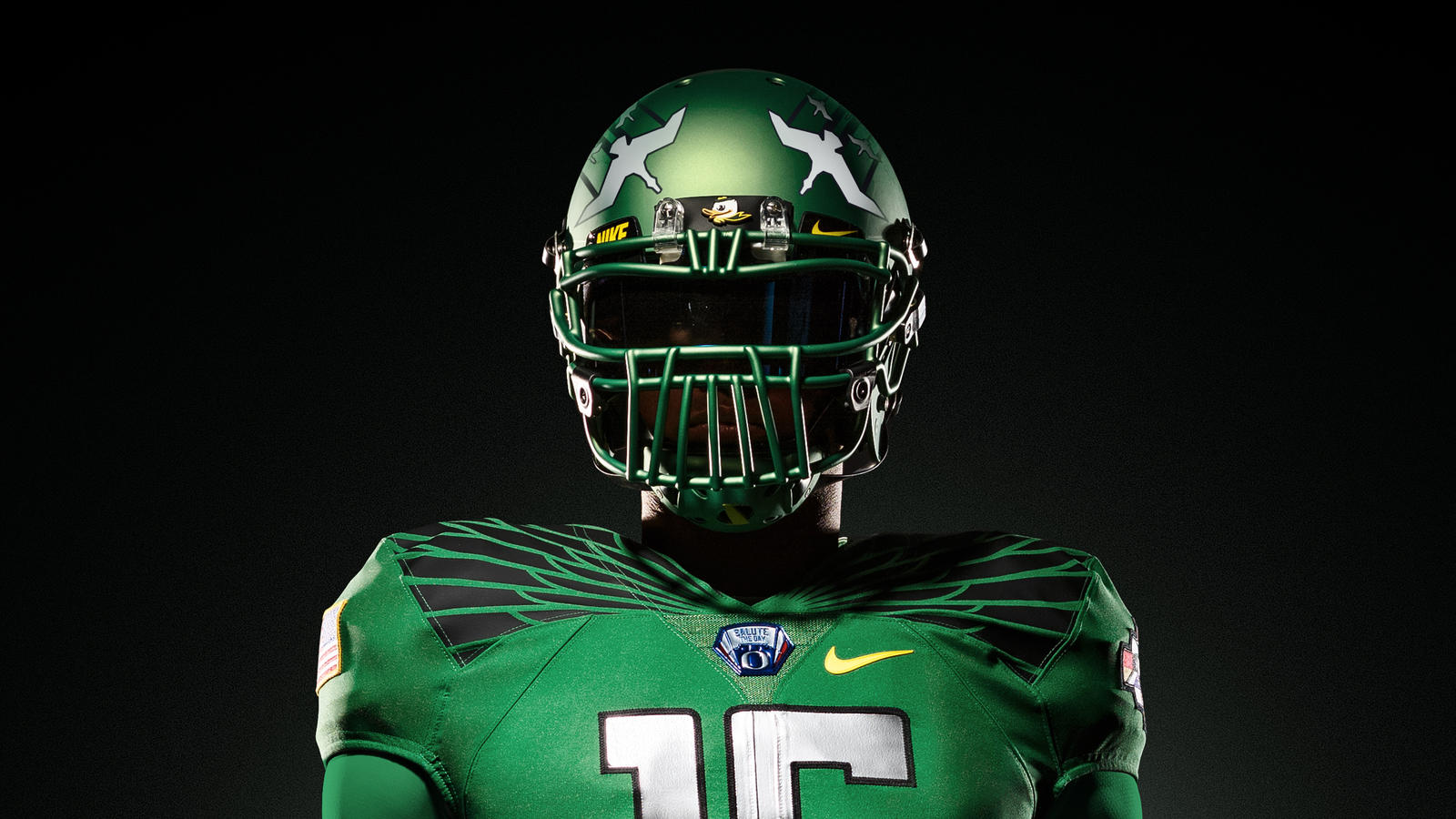Oregon Ducks Logo With Wings Decal GoDucks.com | The Univ...